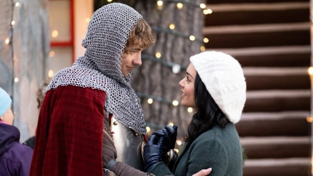 The Knight before Christmas Vanessa Hudgens