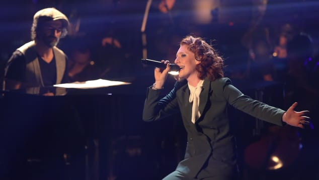 """The voice of Germany""-Finalistin Anna Heimrath"