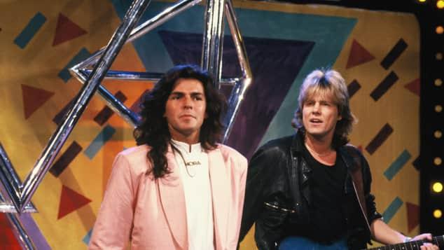 Thomas Anders und Dieter Bohlen in den Achtzigern als Modern Talking
