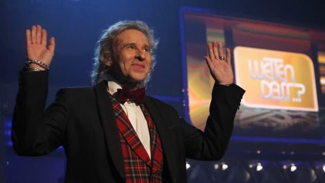 """Thomas Gottschalk während seiner letzten """"Wetten, dass...?""""-Sendung 2011"""