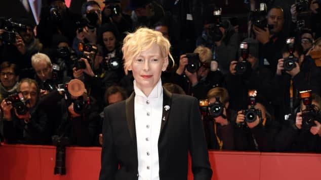 Tilda Swinton, Berlinale, 2018, schottische, Schauspielerin,