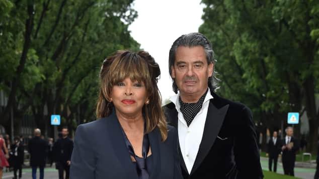 Tina Turner und ihr Mann Erwin Bach