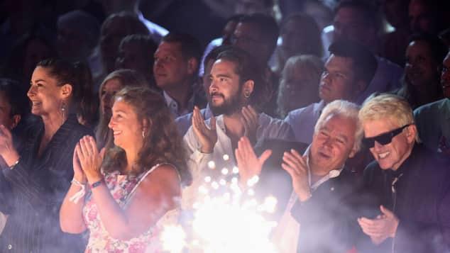Tom Kaulitz beim GNTM-Finale 2018