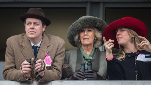 Tom  Parker Bowles, Camilla  Parker Bowles, Laura Lopes, Camilla  Parker Bowles Kinder, Stiefgeschwister von William und Harry