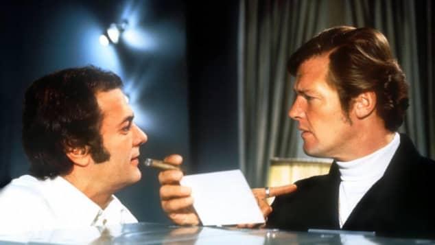 """""""Die 2"""": Tony Curtis und Roger Moore"""