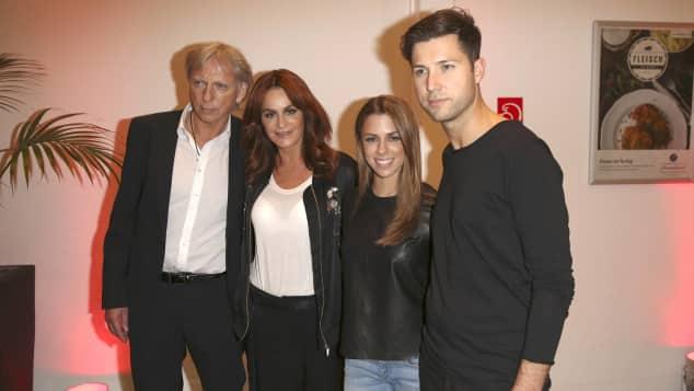 "Ulrich Ferber, Andrea Berg, Vanessa Mai und Andreas Ferber zu Gast bei Florian Silbereisens ""Das große Schlagerfest"""