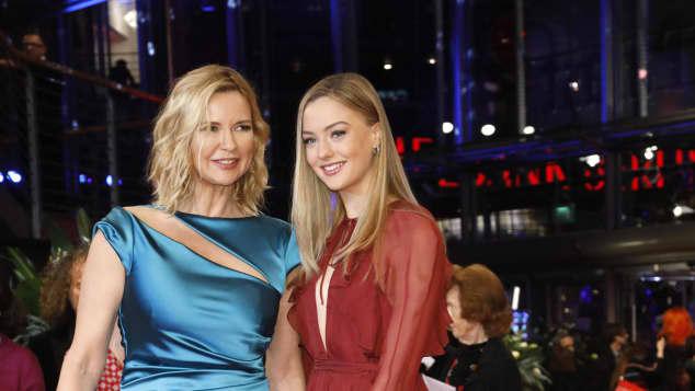 Veronica Ferres und Lilly Krug bei der Berlinale 2020
