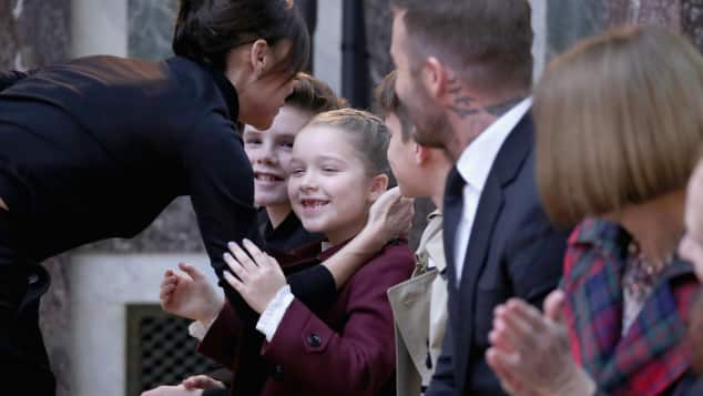 Beckham Familie, Victoria Beckham, Davod Beckham, Harper Beckham