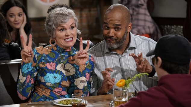 Victor Williams and Stephnie Weir in Happy Together