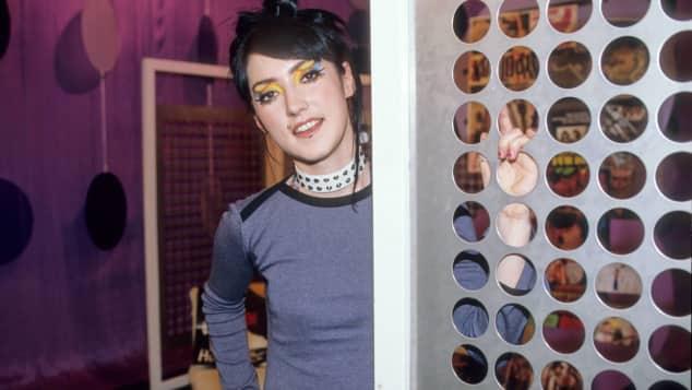 Charlotte Roche im VIVA-Studio. Der Sender wird eingestellt