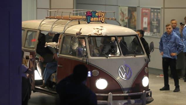 Der VW Bulli der Kelly Family