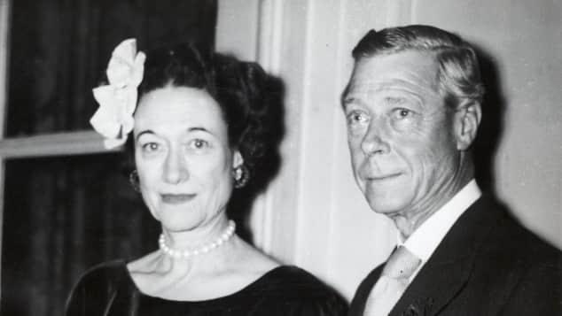 König Edward heiratete die US-Schauspielerin Wallis Simpson