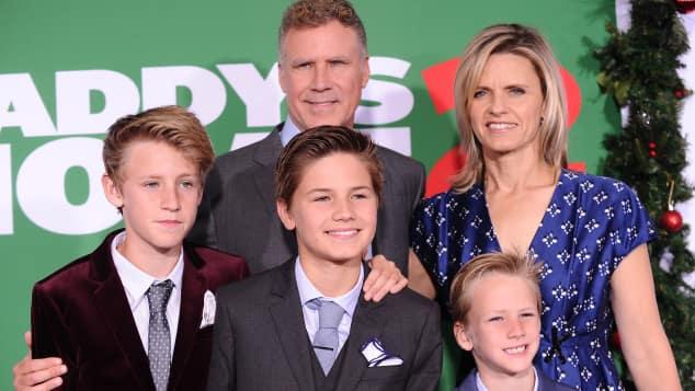 Will Ferrell und seine Familie