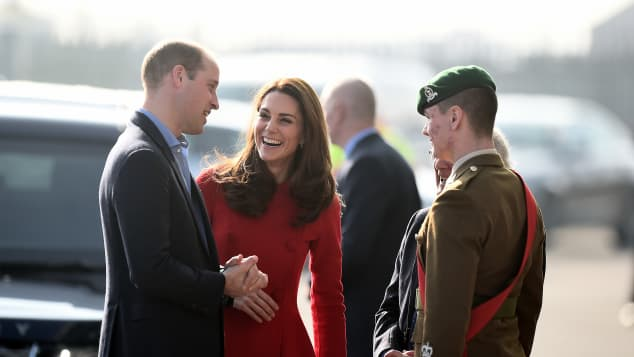 Prince William Duchess Catherine Visit Belfast Northern Ireland