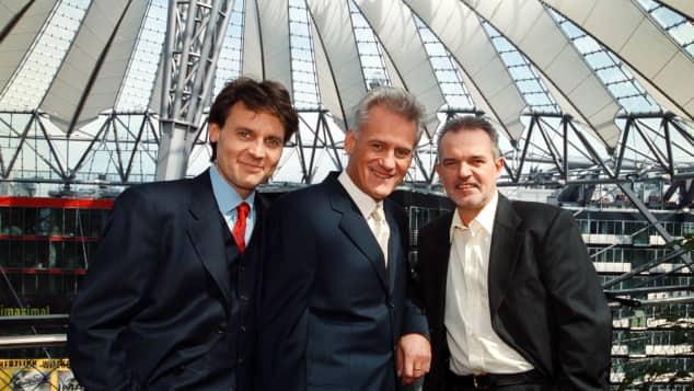 Wolfgang Bahro, Frank-Thomas Mende und Hans Christiani