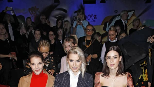 Yvonne Catterfeld Lena Gercke Lena Meyer-Landrut Berlin Fashion Week