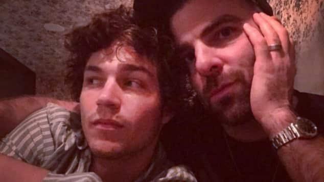 Miles McMillan und Zachary Quinto