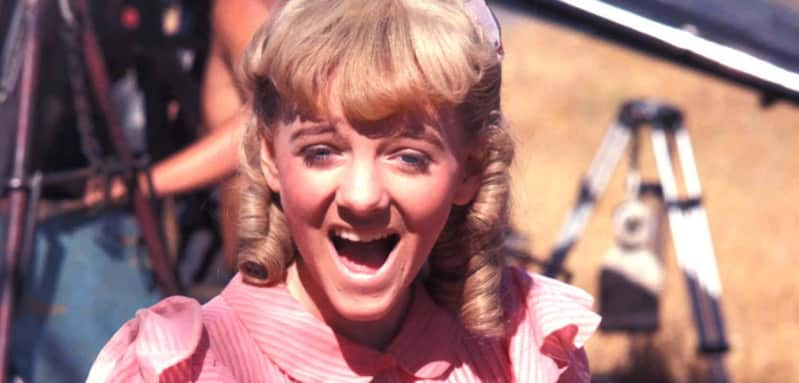 "Alison Arngrim as ""Nellie"" in ""Little House on the Prairie"""