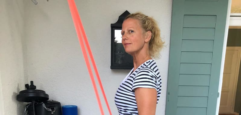 Barbara Schöneberger Sport