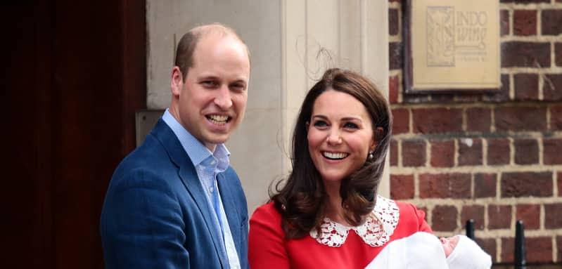 Prinz William und Kate freuen sich über ihr drittes Baby
