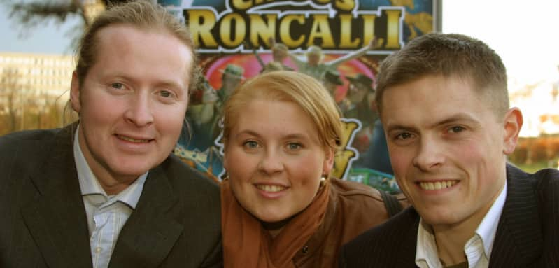 Joey, Maite und Paddy Kelly