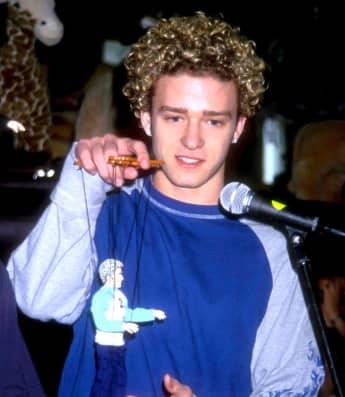 Justin Timberlake war ein Mädchenschwarm