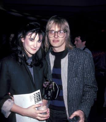 Demi Moore und ihr erster Ehemann Freddy Moore