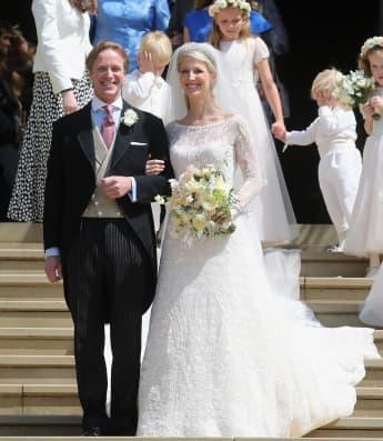 Lady Gabriella Windsor and Mr. Thomas Kingston