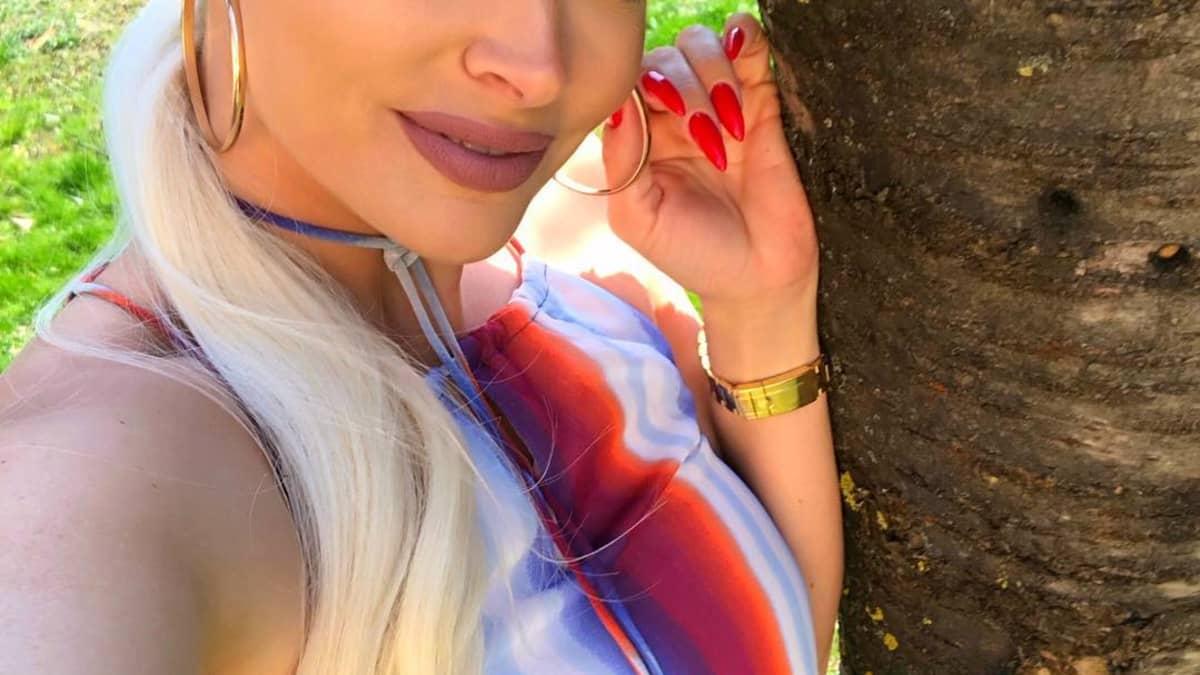 Neue Haarfarbe? Daniela Katzenberger brünett auf Instagram
