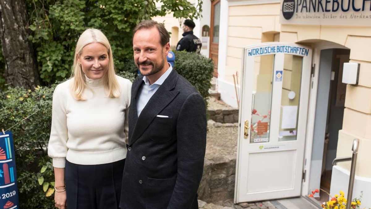 Prinz Haakon und Mette-Marit begeistern Berlin