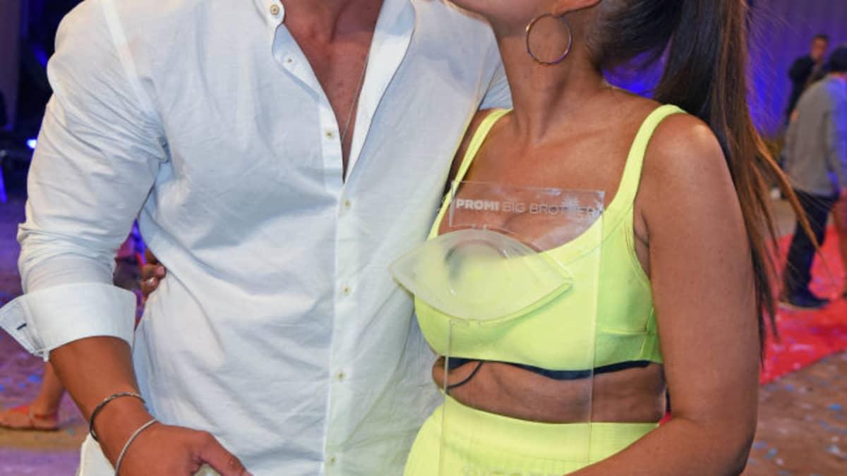 """""""Promi Big Brother""""-Gewinnerin Janine Pink plant schon eine Familie mit Tobi"""