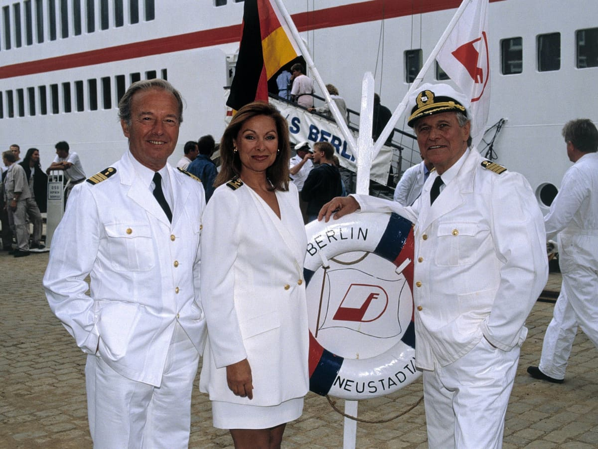 Das Traumschiff Sie Waren Schon Alle Kapitäne
