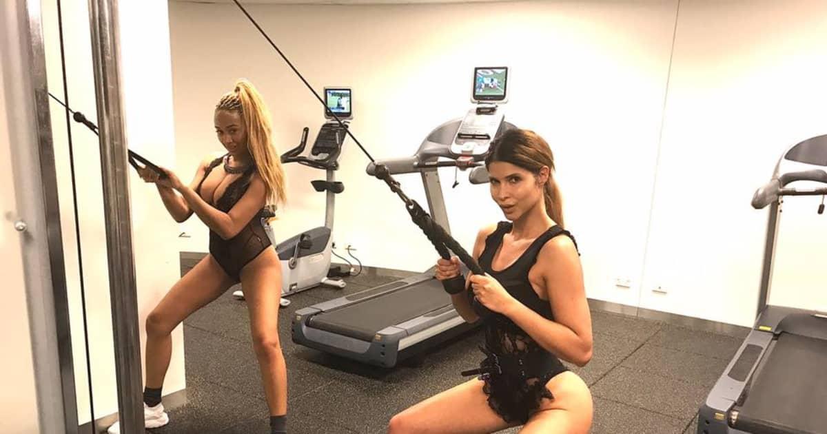 Sarah Joelle - Heißes Dschungel-Workout