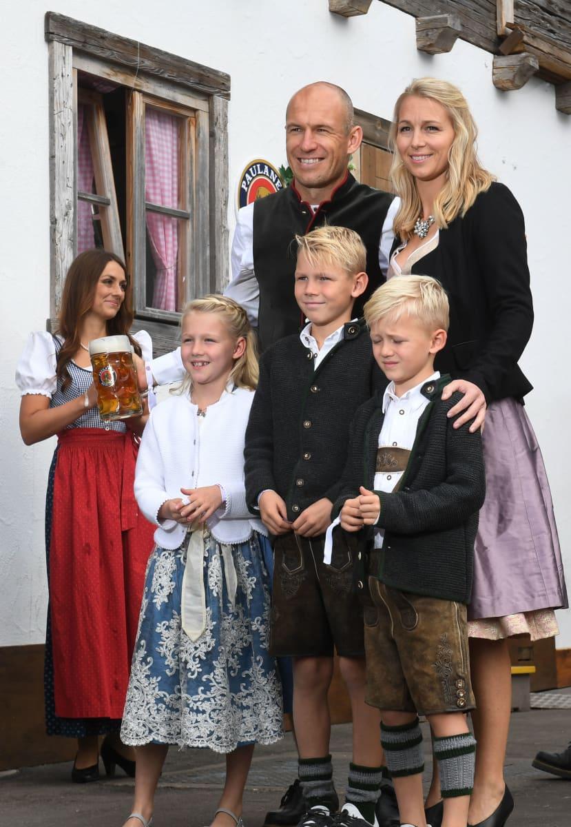Arjen Robben Familie