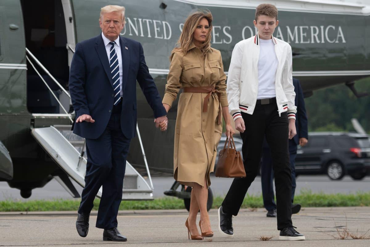 Barron Trump So Ahnlich Sieht Er Seinem Vater Donald