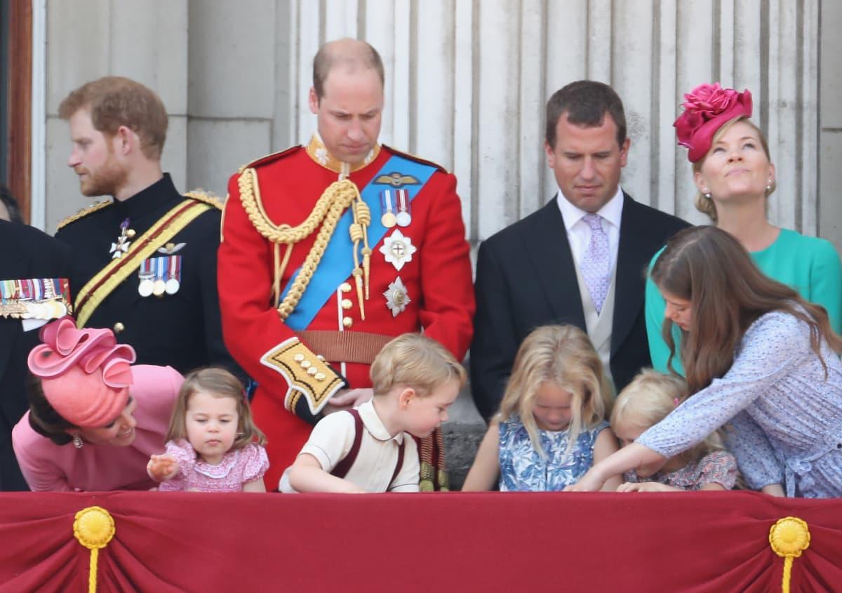 Die Enkel und Urenkel der Queen