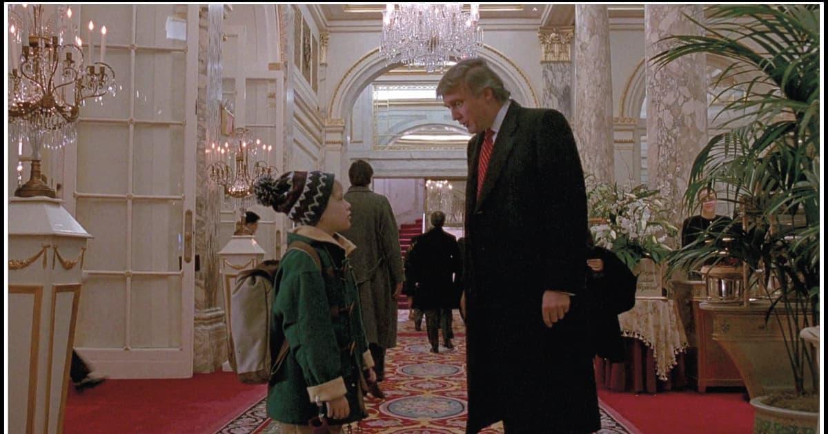 Donald Trump Kevin Alone