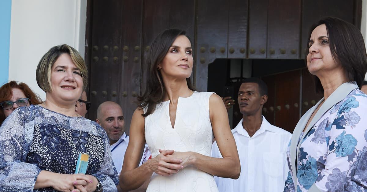 Königin Letizia in Havanna: Drei Looks an einem Tag – so schön waren ihre Outfits