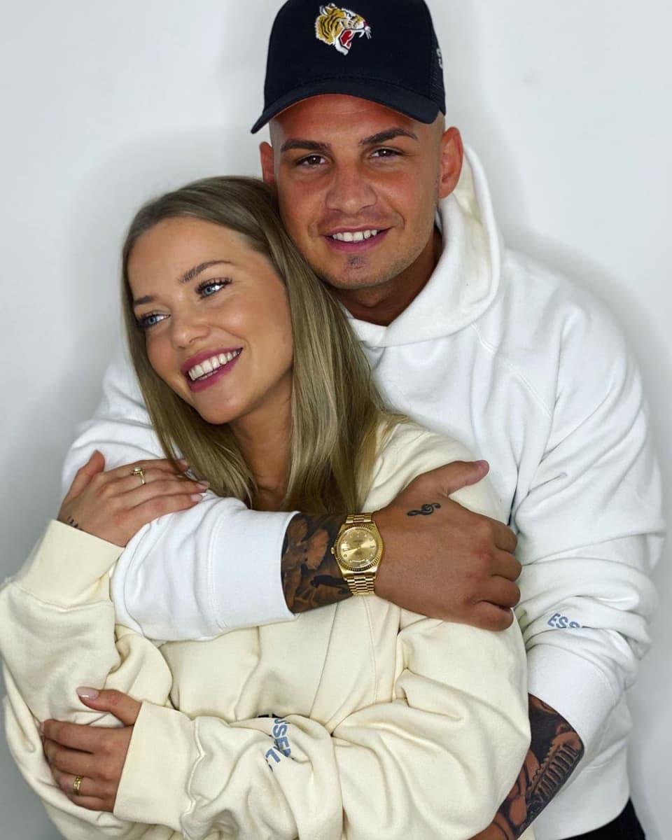 Pietro Lombardi und seine Freundin Laura zeigen ihren