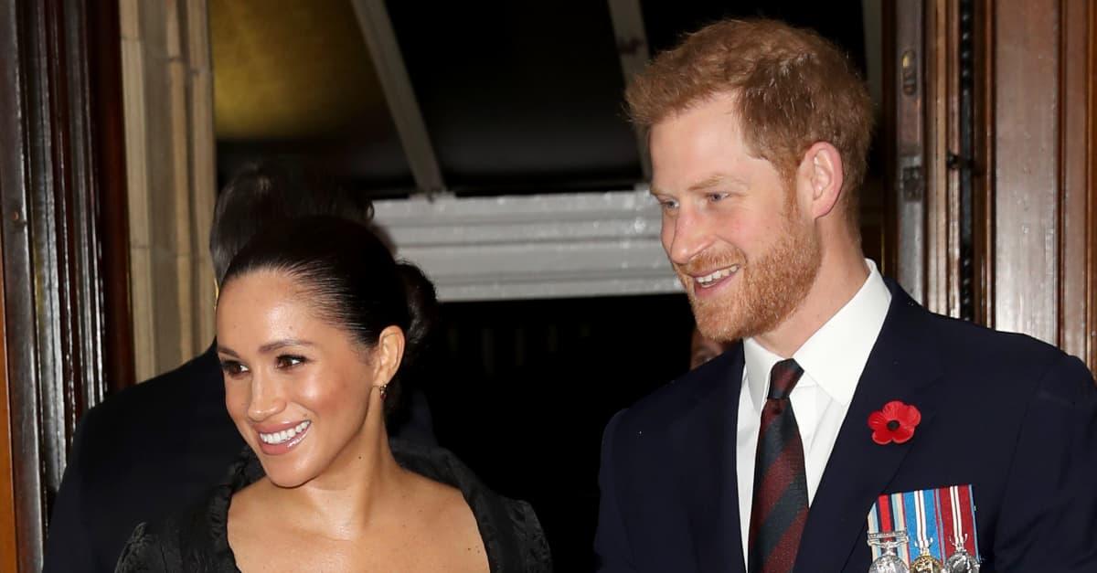 Geburtstagsgruß: Harry und Meghan gratulieren Charles mit neuem Archie-Bild