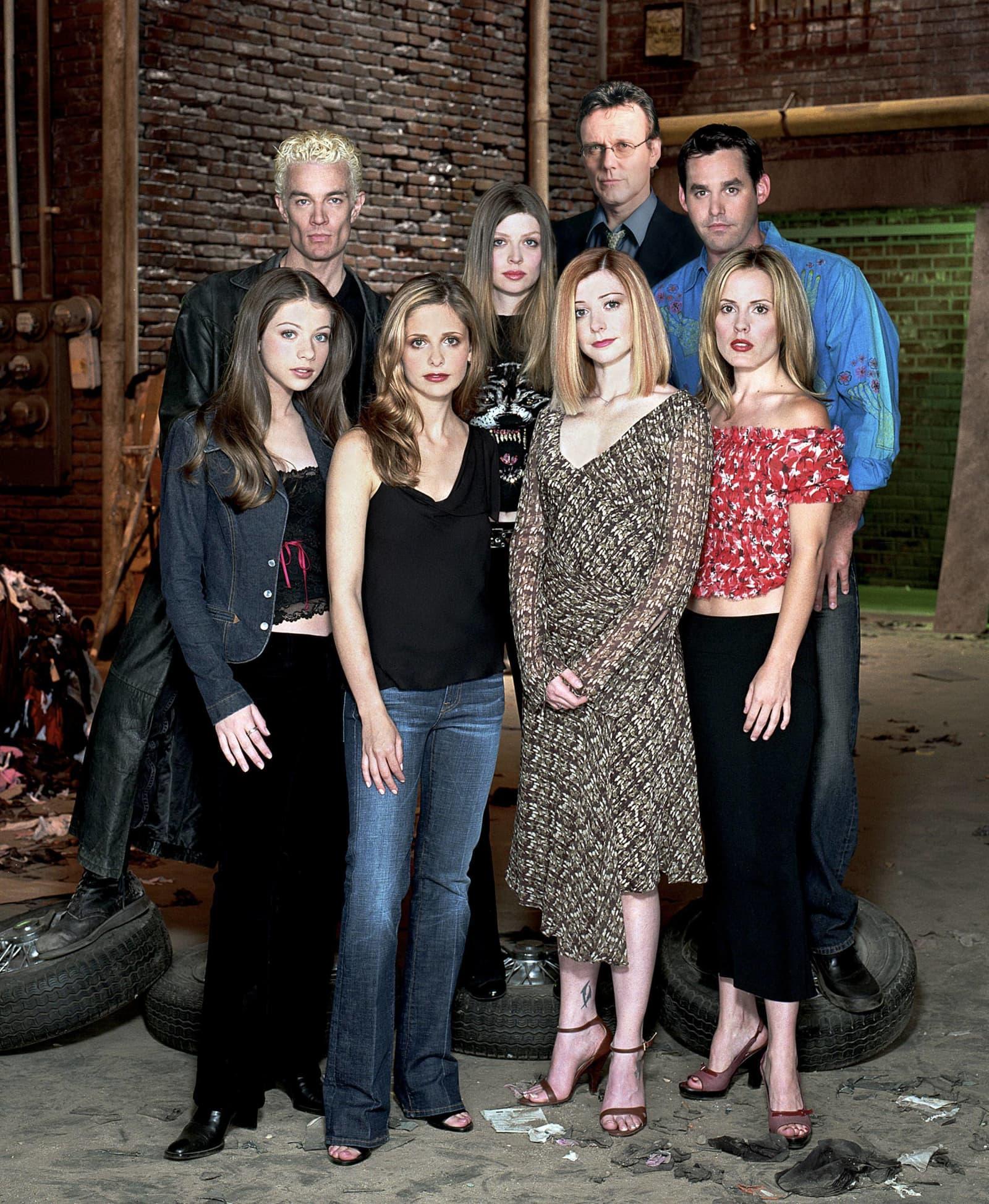 """""""Buffy - Im Bann der Dämonen"""" - Die Darsteller damals und heute"""