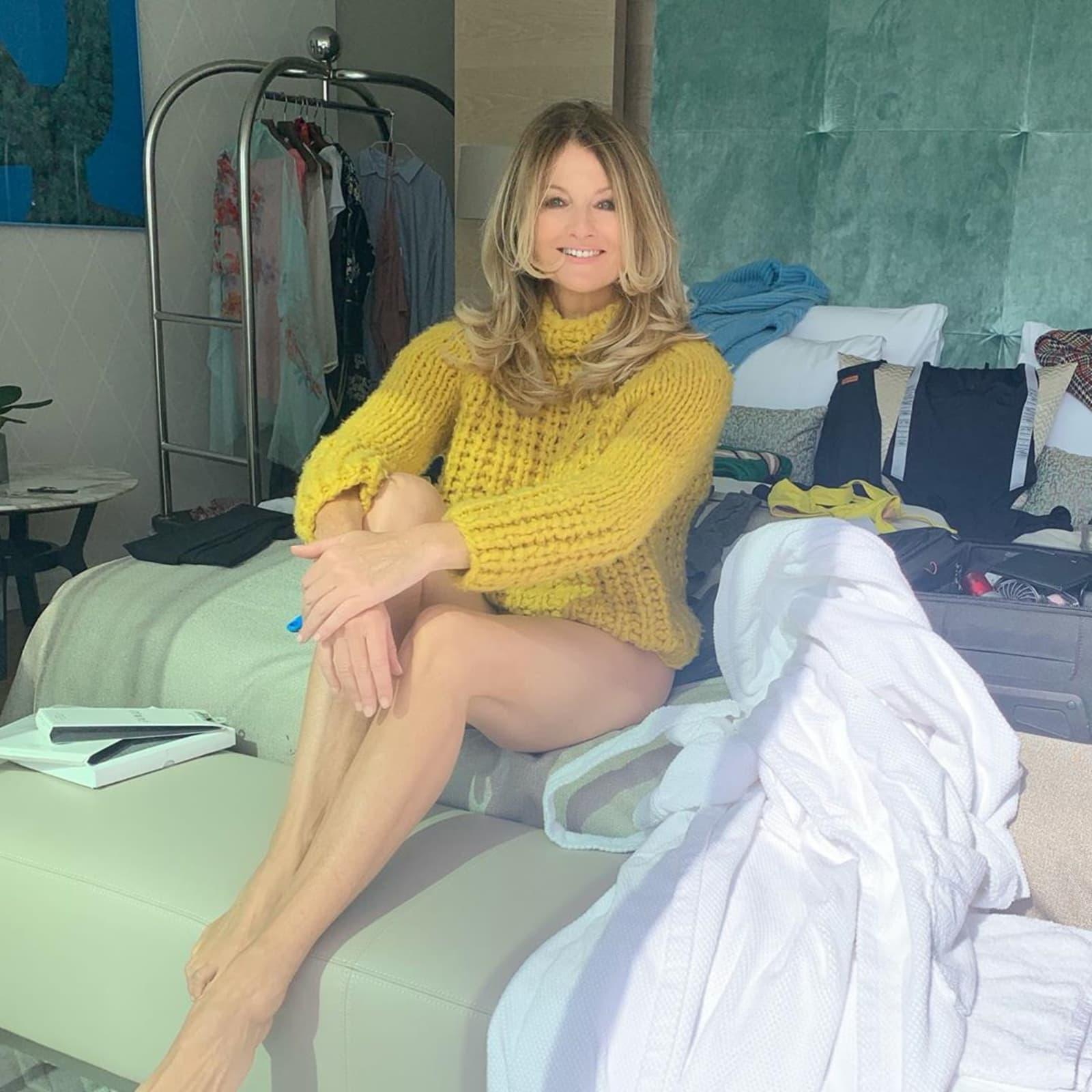 Frauke Ludowig unten ohne: Sie zeigt ihre Hammer-Beine