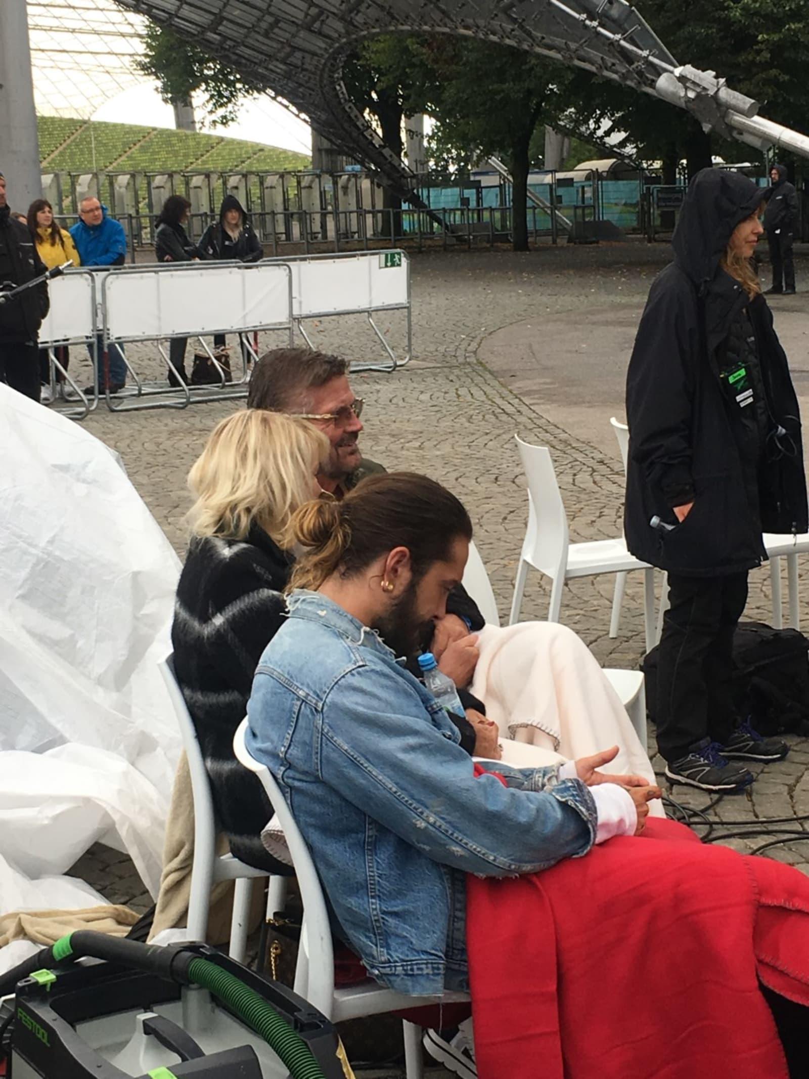 Von wegen dicke Luft: Heidi Klums Papa Günther beim GNTM-Casting dabei