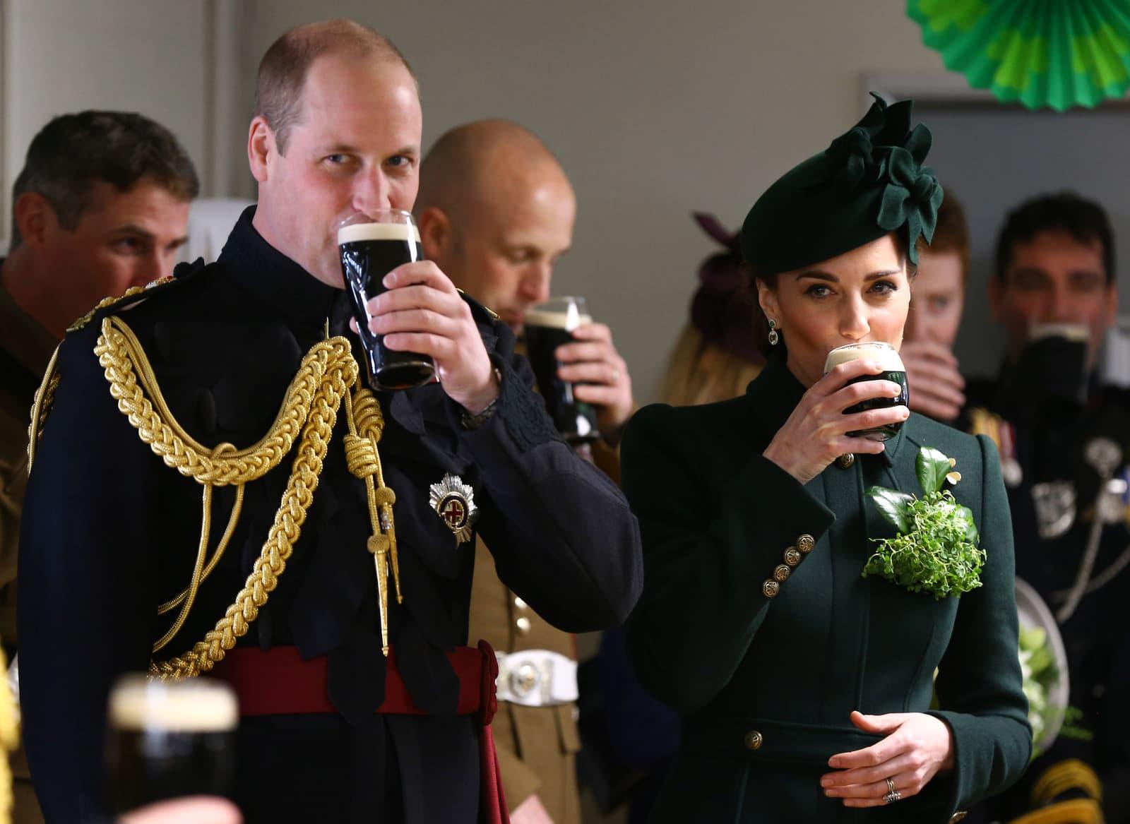 St. Patrick's Day: So ausgelassen feiern die Royals