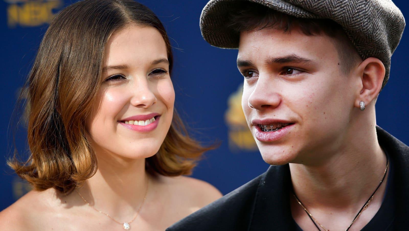 """""""Stranger Things""""-Millie Bobby Brown und Romeo Beckham sollen ein Paar sein"""