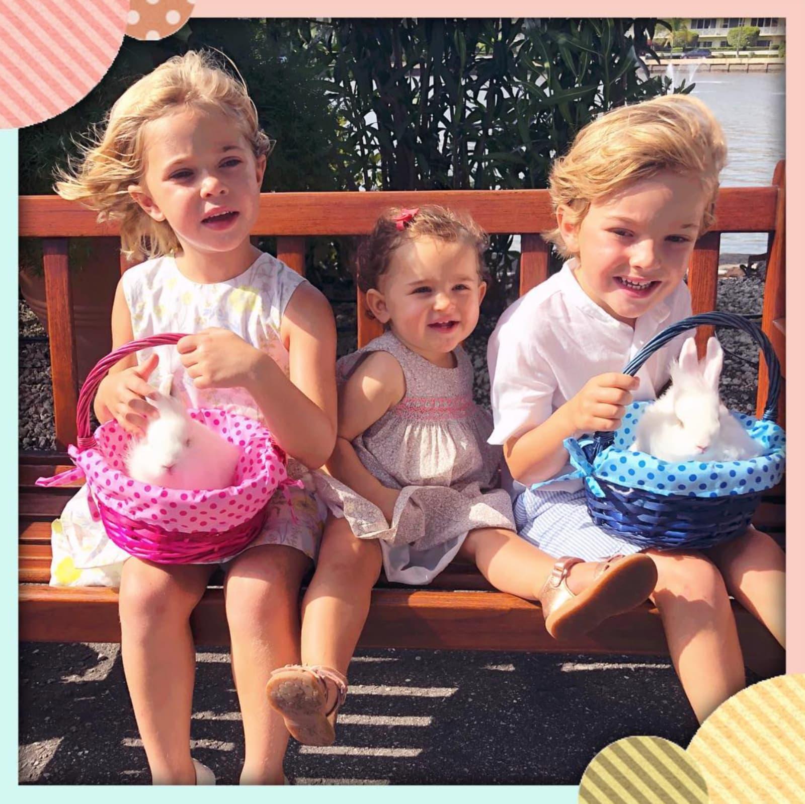 Süße Ostergrüße von Prinzessin Madeleine und ihren Kindern