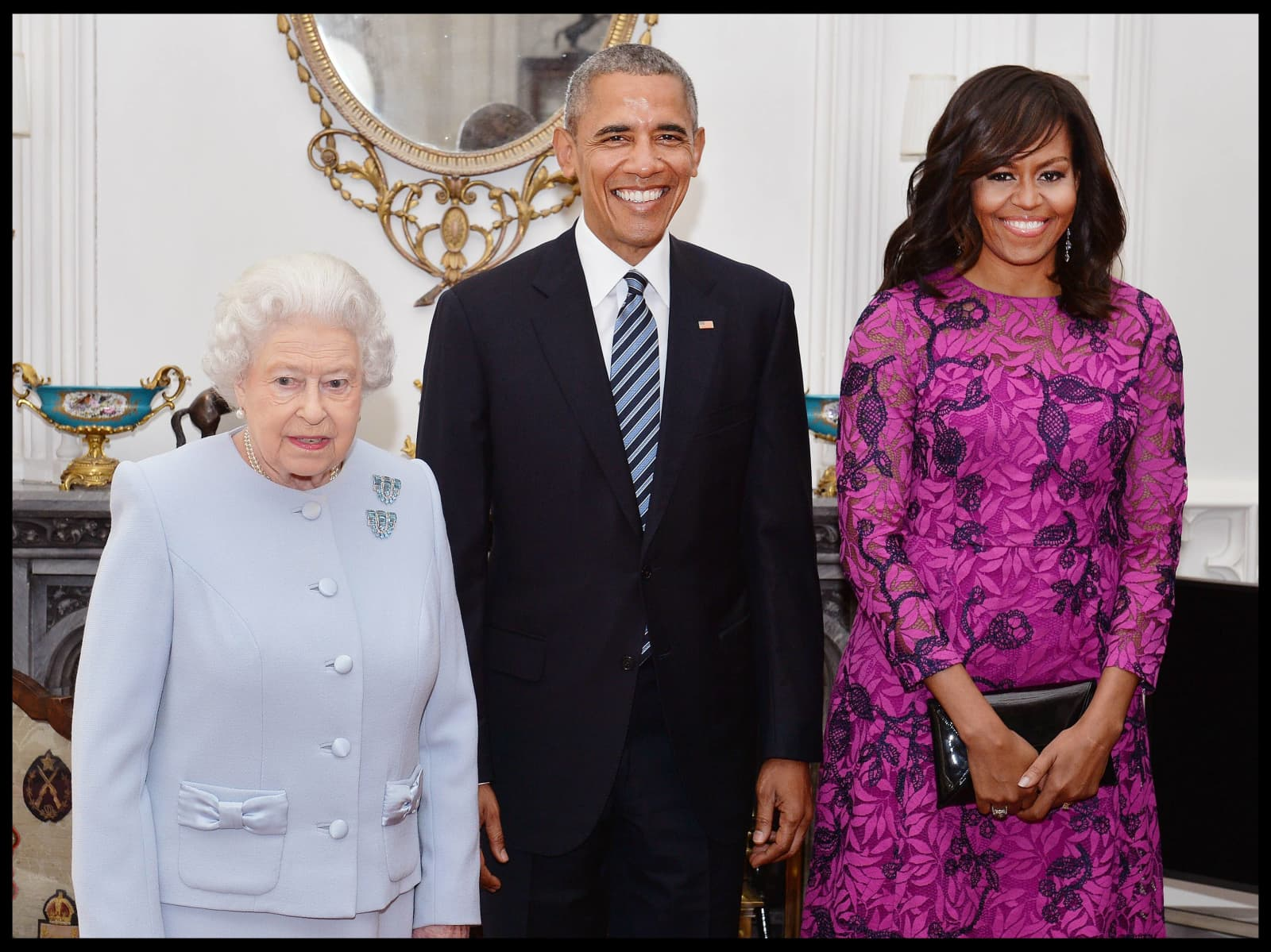 Michelle Obama verrät intime Details bei einer Geschichte über die Queen