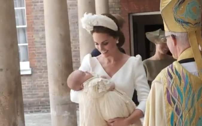 599584bdc46317 Flipboard  Werden wir Baby Louis bei Eugenies Hochzeit zu Gesicht ...