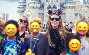 Heidi Klum und ihre Kinder