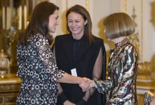 Herzogin Kate und Anna Wintour